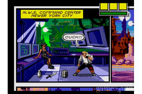 Comix Zone. Download and Play Comix Zone Game - Games4Win