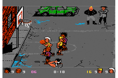 AtariAge - Atari 7800 Screenshots - Basketbrawl (Atari)