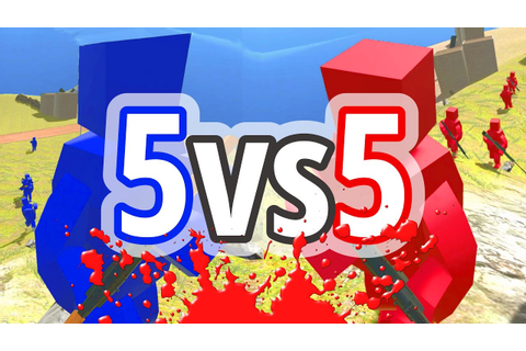 5 VERSUS 5 SMALL SQUAD RAVENFIELD | Red vs Blue | Free ...