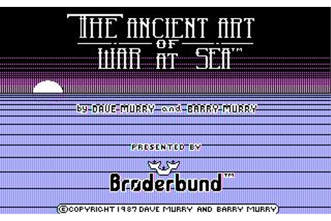 Ancient Art of War at Sea, The Download (1987 Strategy Game)