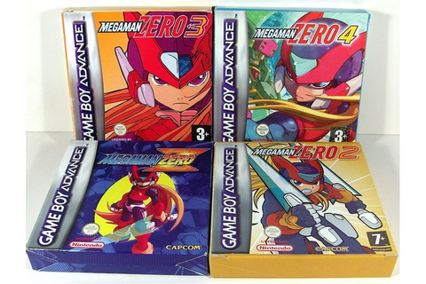 Rom Downloads: Megaman Zero Collection (GBA)