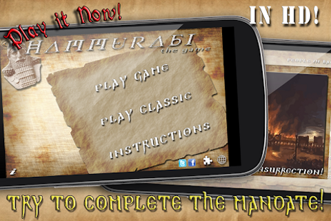 Hammurabi - The Game (in HD) - Android Apps on Google Play