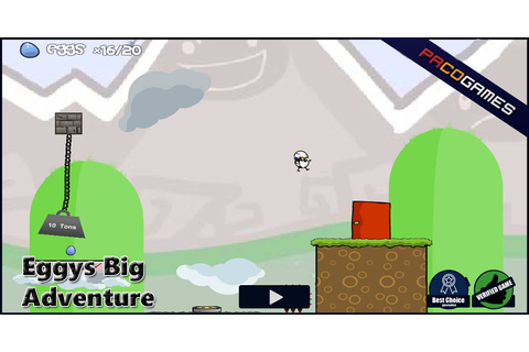 Eggys Big Adventure | Play the Game for Free on PacoGames