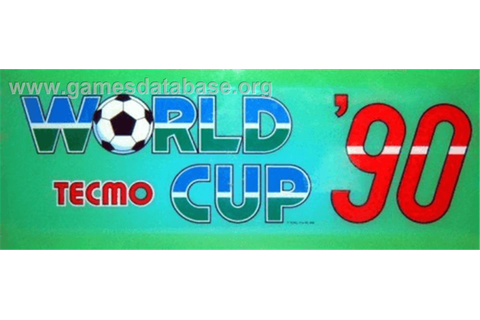 Tecmo World Cup '90 - Arcade - Games Database