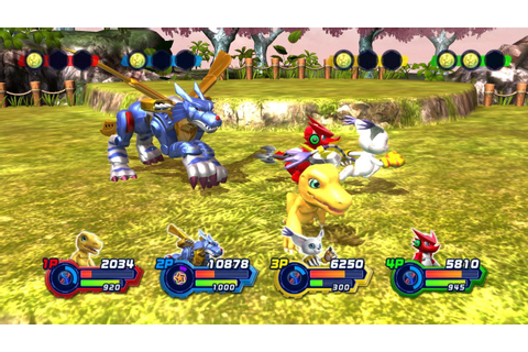 Digimon All Star Rumble Review Screenshot 3 – Bonus Stage