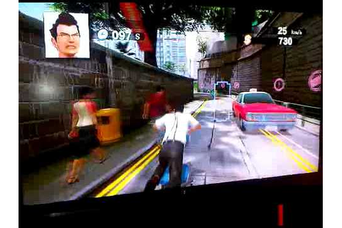 PS3 Move - Kung Fu Rider (in Game) - YouTube