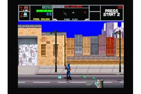 Midway Arcade Treasures 2 - Narc (Playstation 2) Game Play ...