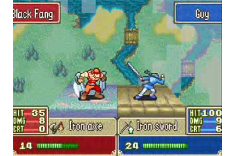 "The Juanpa's Blog 1.5: Fire Emblem ROM GBA ""Español ..."