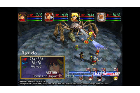 Grandia II Anniversary Edition now available on PC