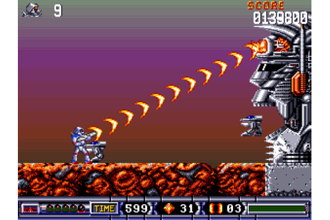 Turrican II: The Final Fight - The Company - Classic Amiga ...