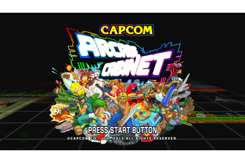 Capcom Arcade Cabinet Title Screen (PS3, Xbox 360) - YouTube