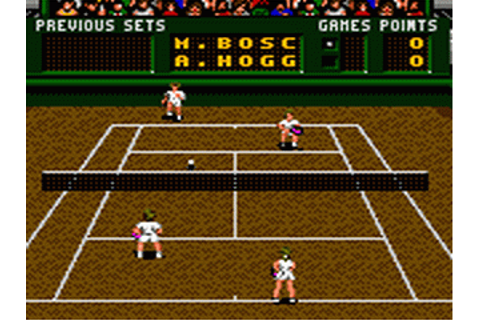 Pete Sampras Tennis | Sega Game Gear