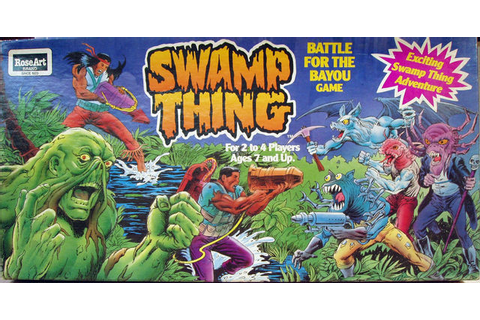 Swamp Thing Battle for the Bayou © 1991 Rose Art 03040 ...