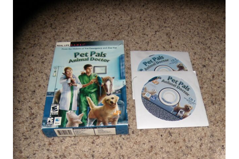 Pet Pals Animal Doctor (PC/MAC, 2006) Game with box | eBay