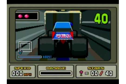 Stunt Race FX (SNES) - YouTube