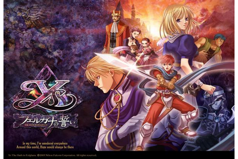 Dream Games: Ys The Oath in Felghana