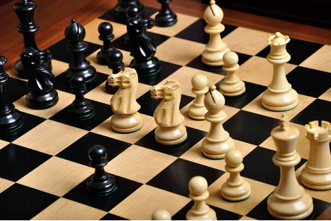 The Grand Master Series Chess Set | Quality Games TX