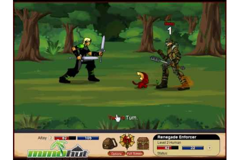 DragonFable Gameplay Footage - YouTube