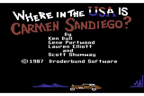 Where in the U.S.A. is Carmen Sandiego? (1987) by ...