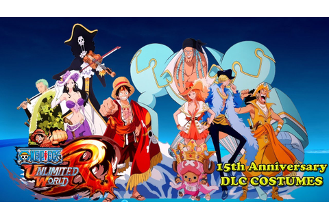 One Piece Unlimited World Red DLC - YouTube