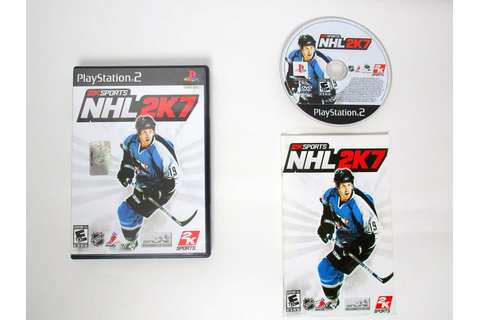 NHL 2K7 game for Sony PlayStation 2 | The Game Guy