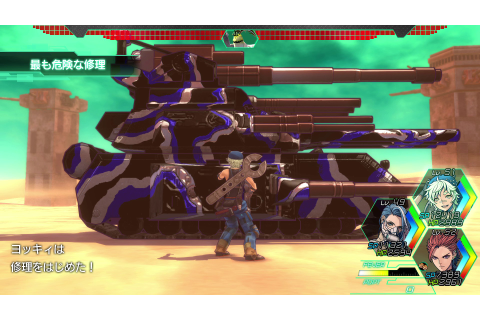 Metal Max Xeno Details Character Classes – RPGamer
