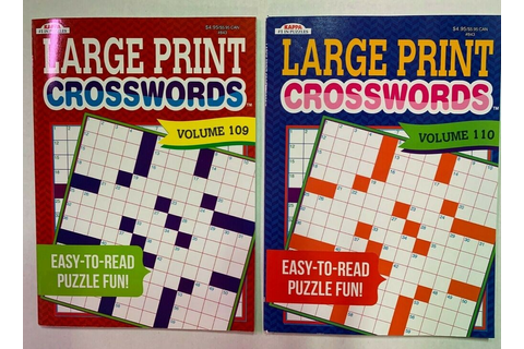 Lot of 2 CoffeeTime CrossWord Puzzles Books BRAND NEW Vol ...