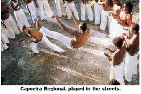 Journal of Combative Sport: Capoeira, rodrigues and Svinth