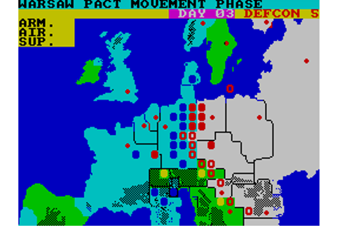 Theatre Europe (1986) by Choice Software ZX Spectrum game