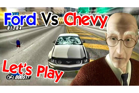 Let's Play | Ford Vs Chevy (PS2) - YouTube