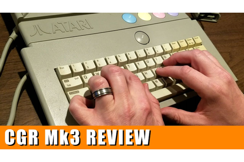 Classic Game Room - TYPO ATTACK review for Atari Computer ...