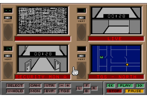 Hacker II: The Doomsday Papers (1986) Amiga game