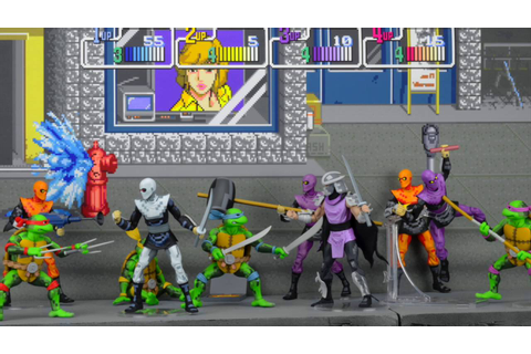 NECA SDCC Exclusive: TMNT Arcade Turtles and Foot Clan Box ...
