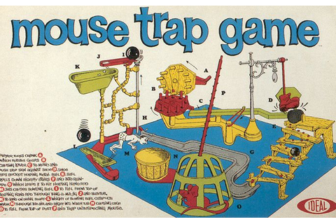 The Best Classic Board Games – Mouse Trap | Recycled ...