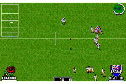 International Rugby Challenge (1993 - DOS). Ссылки ...