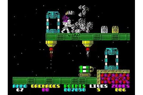 EXOLON (zx spectrum game) - YouTube