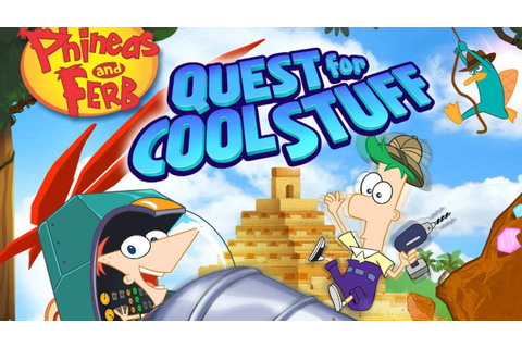 CGR Undertow - PHINEAS AND FERB: QUEST FOR COOL STUFF ...