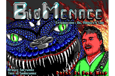 Download Bio Menace | DOS Games Archive