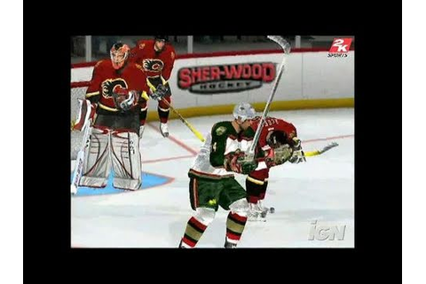 NHL 2K6 PlayStation 2 Gameplay - Free Checking - YouTube