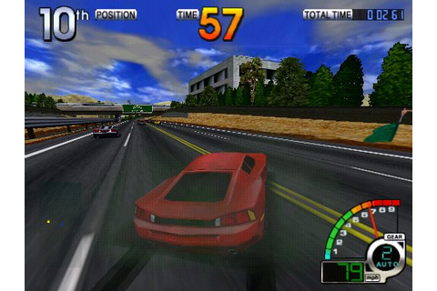California Speed (1998) Arcade game