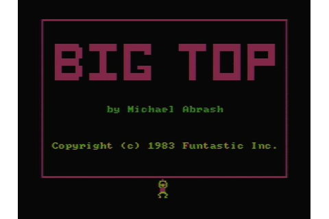 Big Top Download (1983 Arcade action Game)