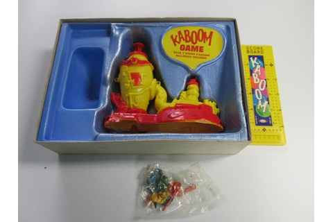 Kaboom Balloon Busting Game 1965 Ideal Toys Board Game ...