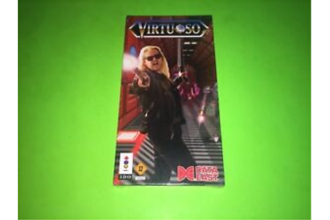 Virtuoso 3DO BRAND NEW FACTORY SEALED IN LONG BOX ULTRA ...