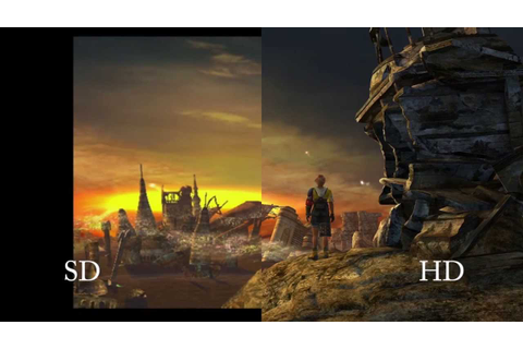 Standard/High Definition Comparison - FINAL FANTASY X | X ...