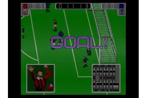 Tecmo World Cup '90 - Euro League - Final Game - YouTube