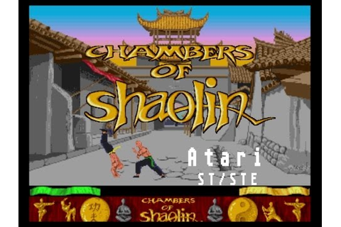 Chambers of Shaolin - Atari ST (1989) - YouTube