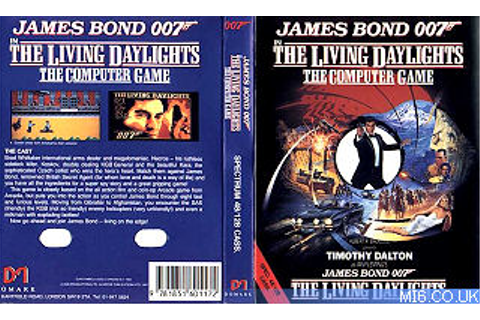 The Living Daylights C64 Game