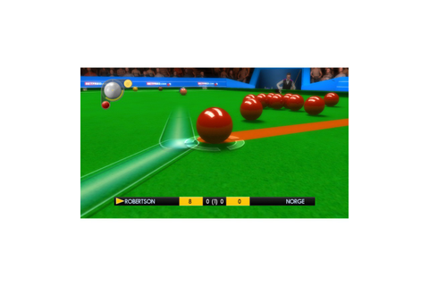 WSC Real 11: World Snooker Championship, PC ...