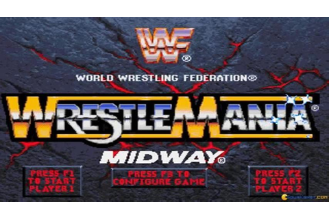 WWF Wrestlemania: the arcade game gameplay (PC Game, 1995 ...