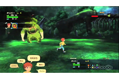 Forest Elemental Boss Fight - Ni no Kuni Gameplay Video ...